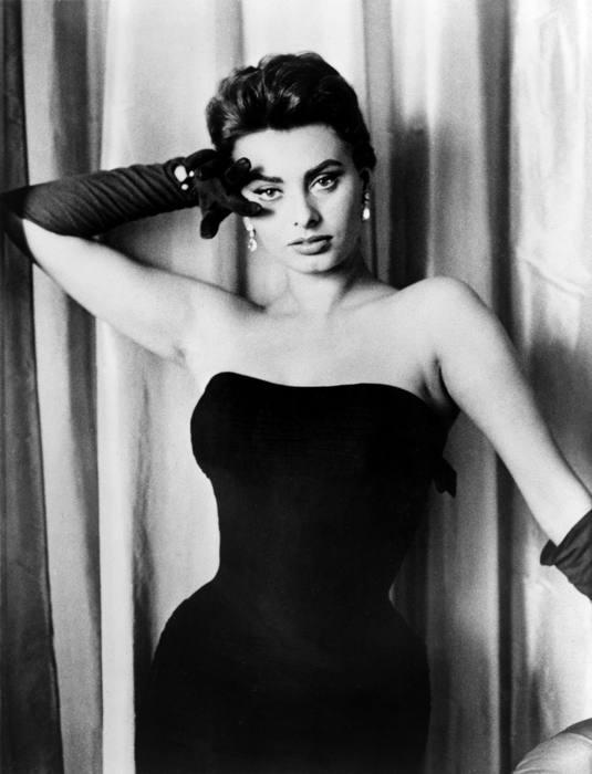 Sophia loren all 39 apice del suo successo a hollywood - Diva futura rome ...