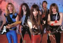 Gli Iron Maiden negli anni '80, all'apice della loro carriera e del successo del movimento metal