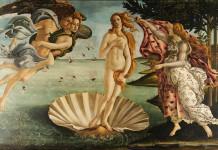 Venere nel celebre dipinto di Sandro Botticelli, ideale di bellezza femminile nel Rinascimento